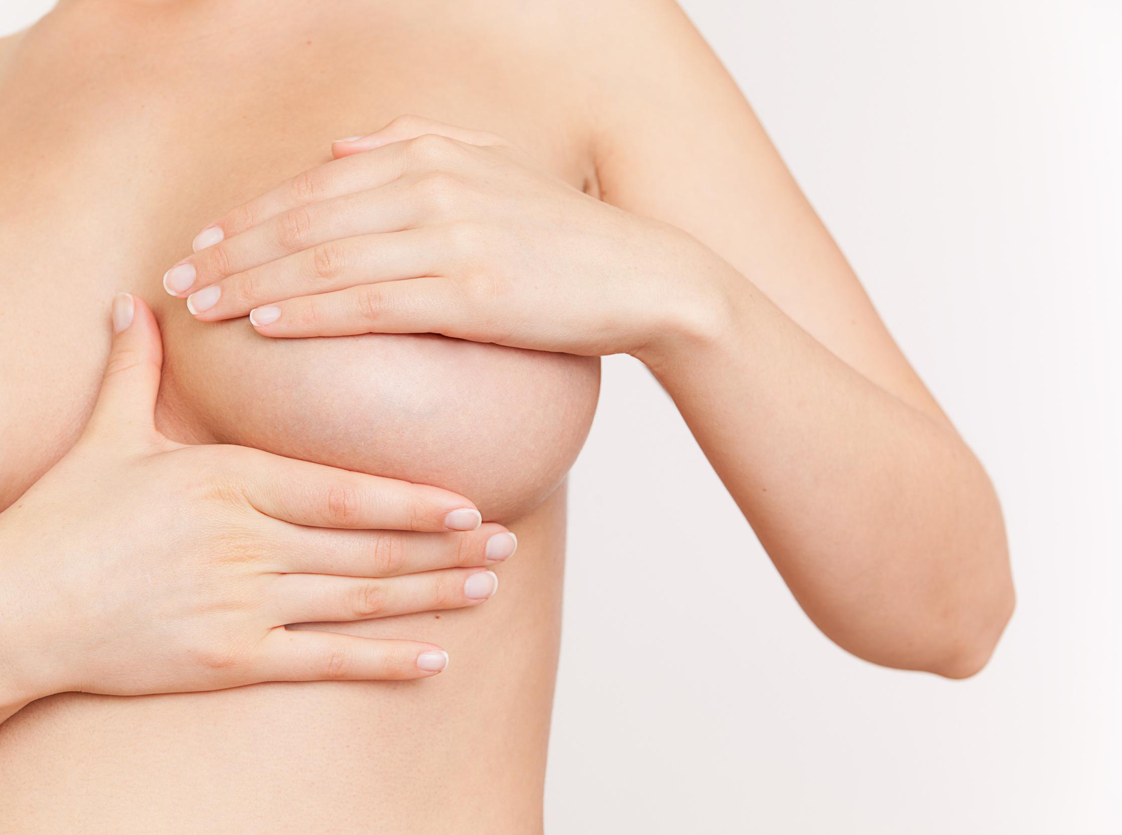 knoten in der brust biopsie